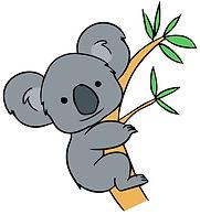 Koala clip art_on tree.jpg