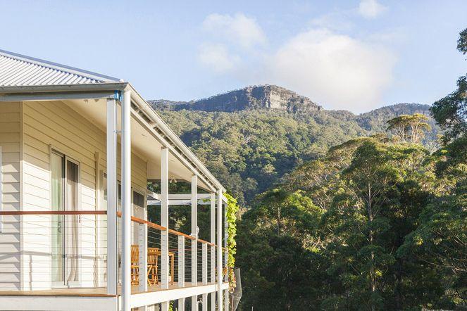 Eastern balcony with escarpment view