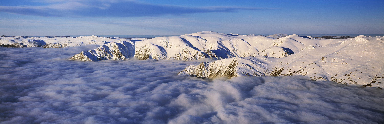 Main Range in Sea of Cloud