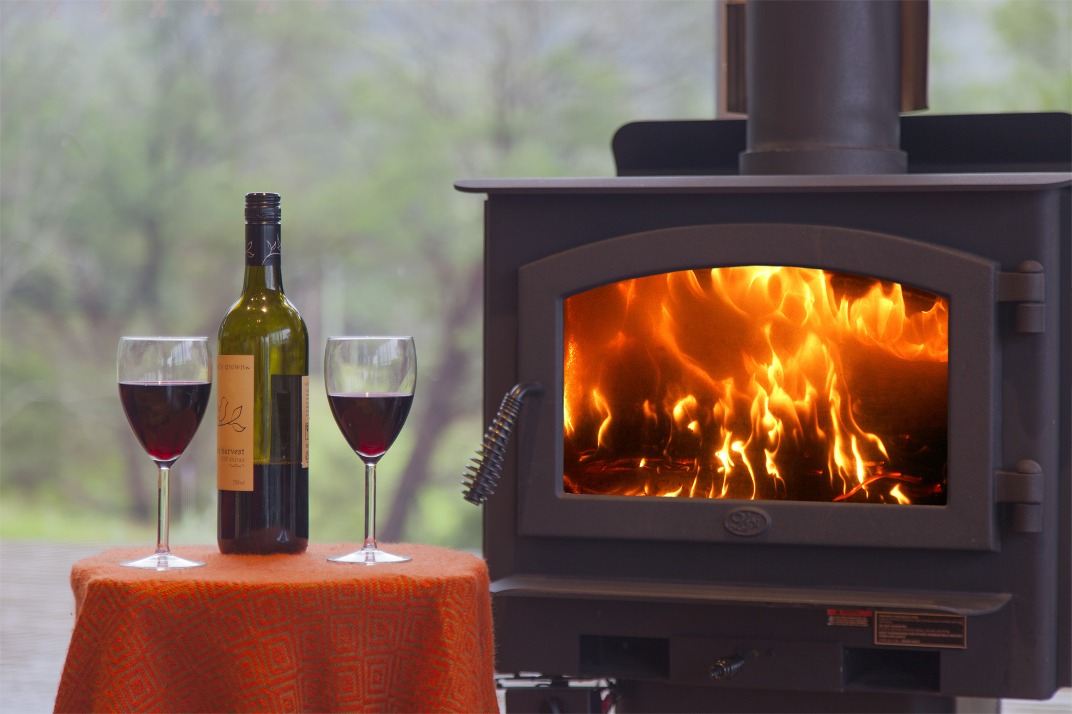 Wood heating for cosy winter nights