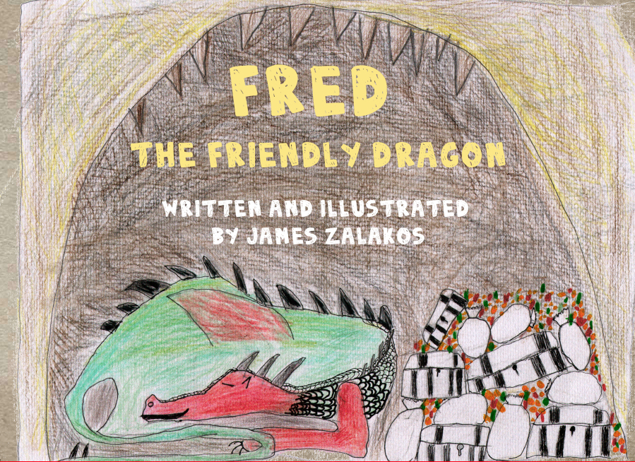 Fred the Friendly Dragon