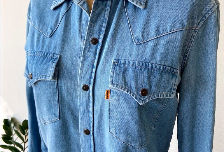 Levi's orange tab western shirt