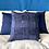 Thumbnail: Pillow indigo braided