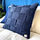 Thumbnail: Pillow indigo braided