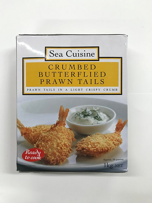 Crumbed Butterflied Prawn Tails