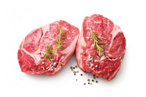 Beef Ribeye Steak Sliced Prime Steer 950 - 1kg Vac Pac