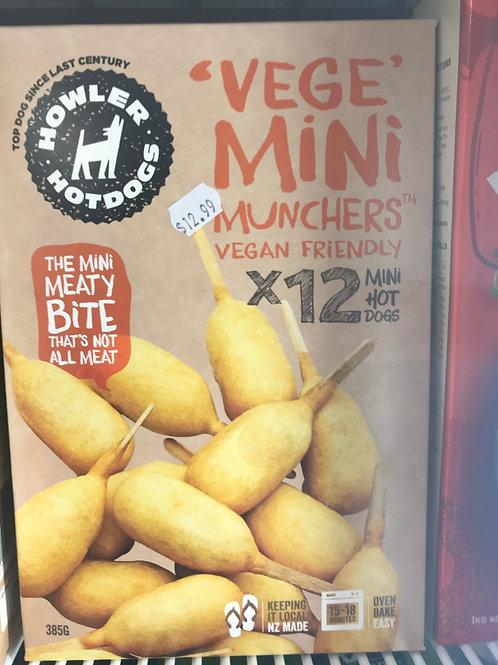 Vege Mini Munchers (vegan)
