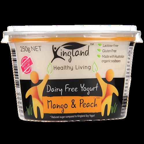 Kingland Mango & Peach Dairy Free Yoghurt
