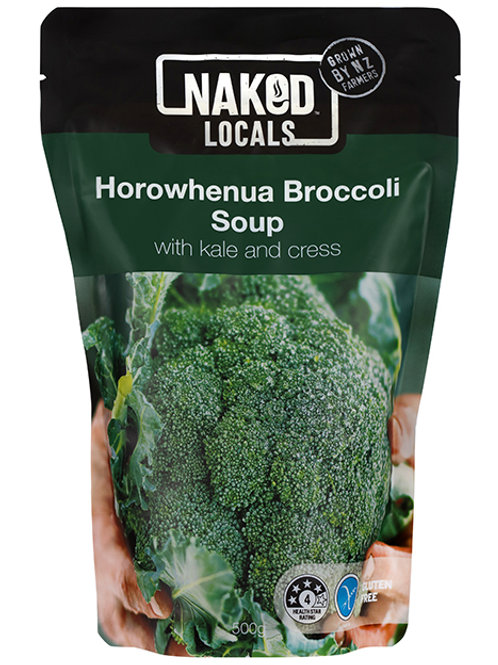 Naked Locals Horowhenua Broccoli Soup