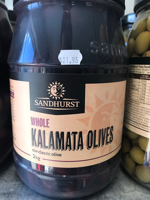 Whole Kalamata Olives (2kg)