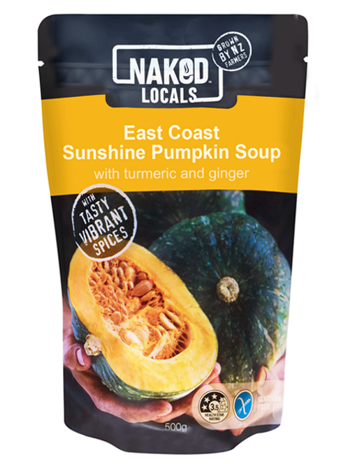 Naked Locals East Coast Sunshine Pumpkin Soup
