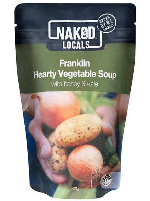 Naked Locals Franklin Hearty Vegetable Soup