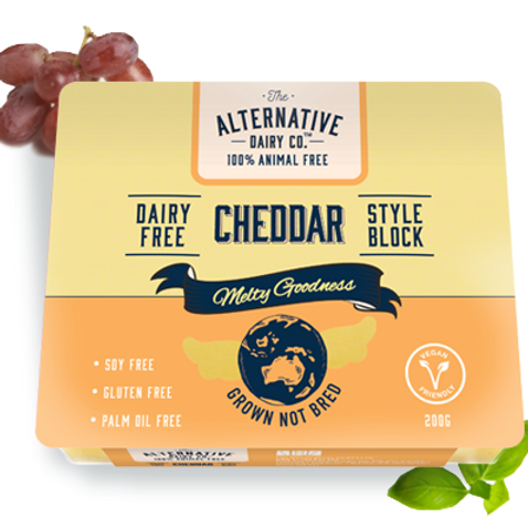 The Alternative Dairy Co Cheddar (Dairy Free)