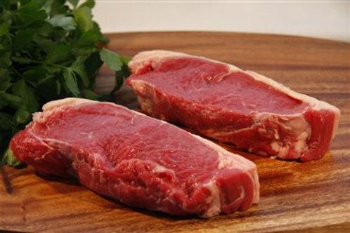 Agora Beef Porterhouse Sirloin Steak (2 x 180-200g portions) 360-400gm pkt
