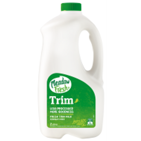 Milk - Trim (Green) Meadow Fresh