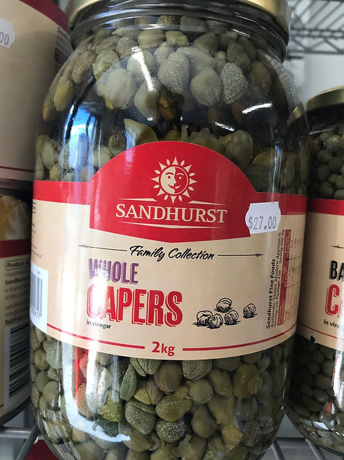 Whole Capers (2kg)