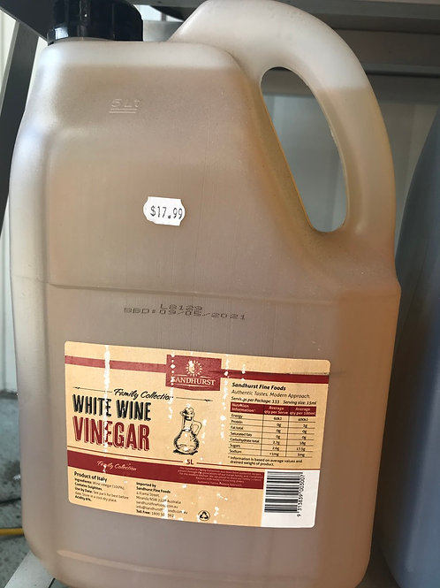 White Wine Vinegar (5L)