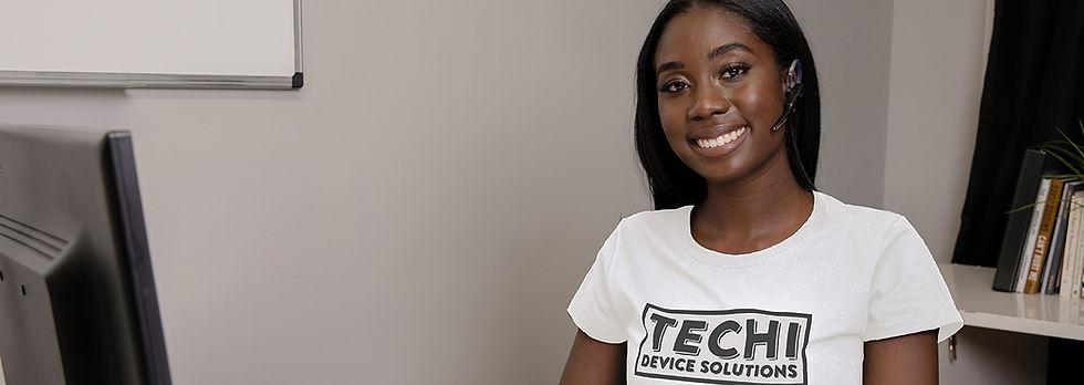 techi customer service agent