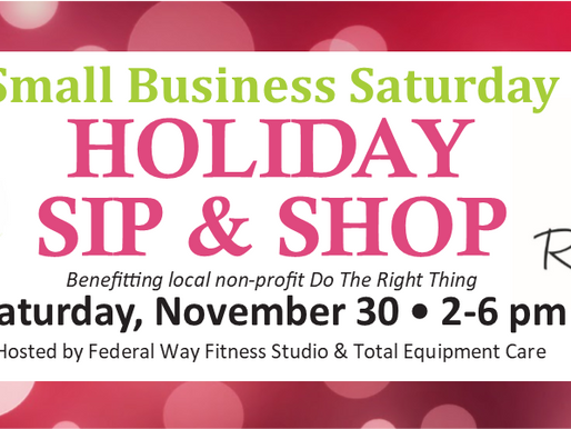 4th Annual Holiday Sip & Shop