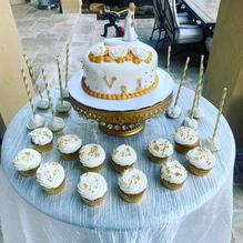 Bridal shower set up