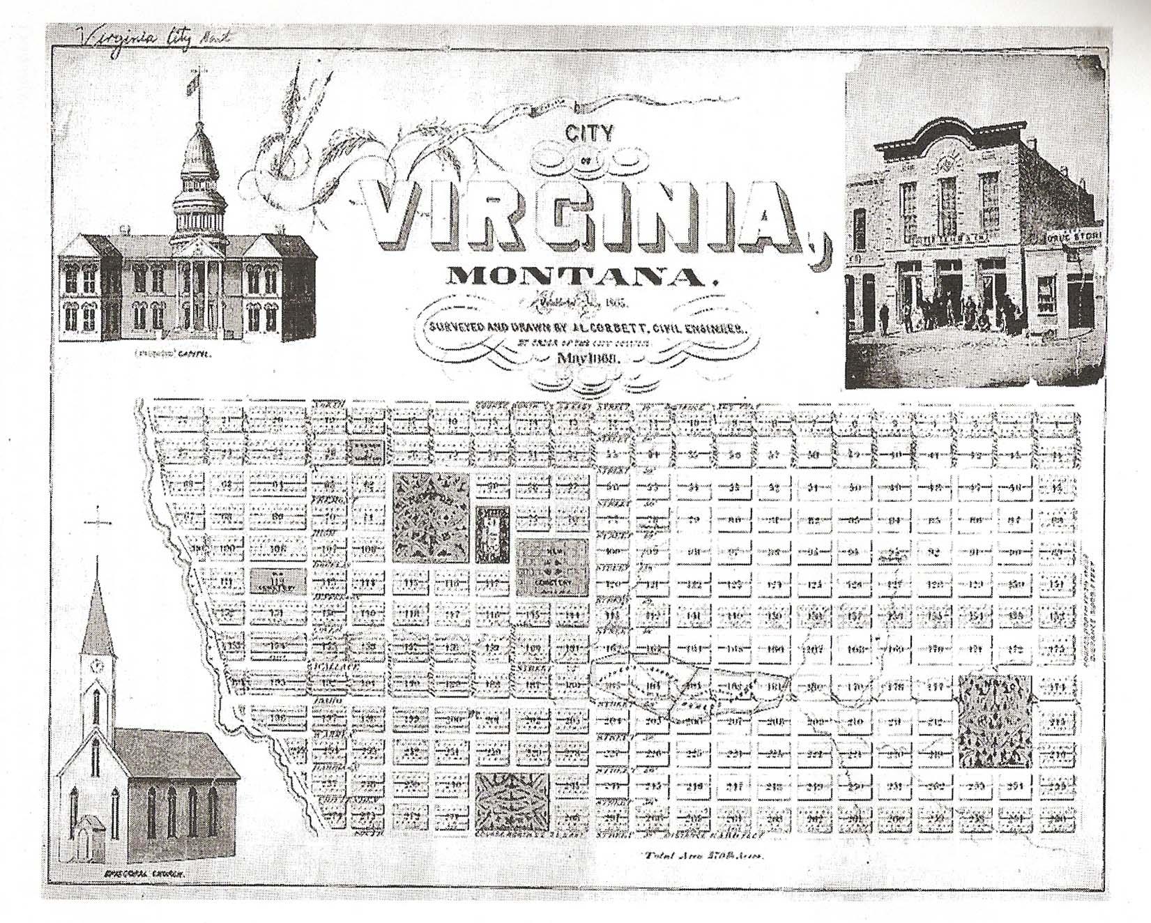 1868 Plat Map