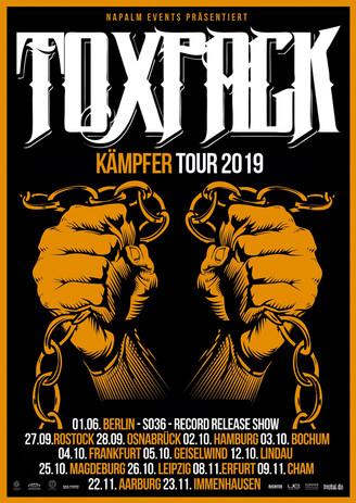 """""""KÄMPFER TOUR"""" Tourdaten online!"""