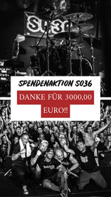 SPENDENAKTION SO36 - DANKE!