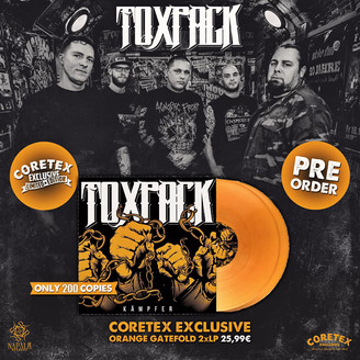 EXKLUSIVE VINYLVERSION BEI CORETEX!