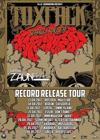 """""""Schall & Rausch"""" Record Release Tour - Vorverkauf gestartet!"""