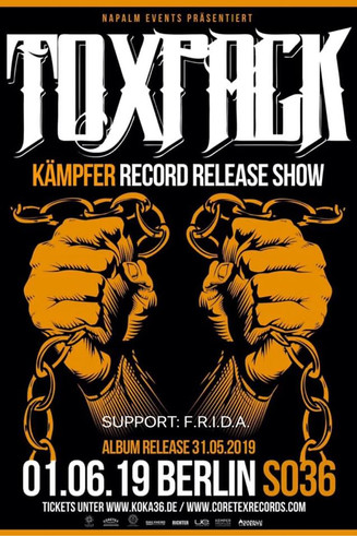 RECORD RELEASE SHOW 01.06.19