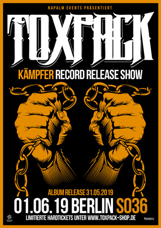 """""""KÄMPFER"""" RECORD RELEASE SHOW"""