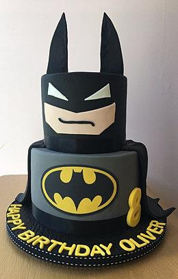 Bespoke Birthday Cakes - Dark knight birthday cake