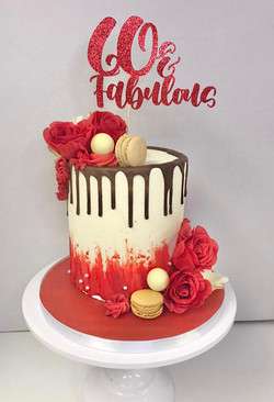 Drip Cake with Topper
