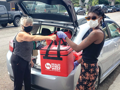 Meals on Wheels West Routes and Volunteers Are Increasing
