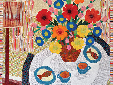 ART QUILTS 2 Exhibit on Display at the California Heritage Museum