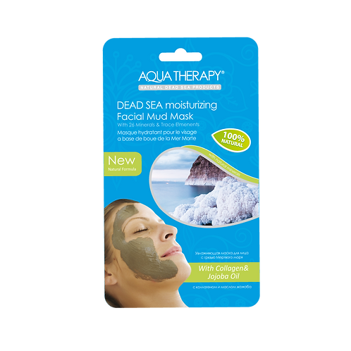 DEAD SEA FACIAL MUD MASK, MOISTURIZING