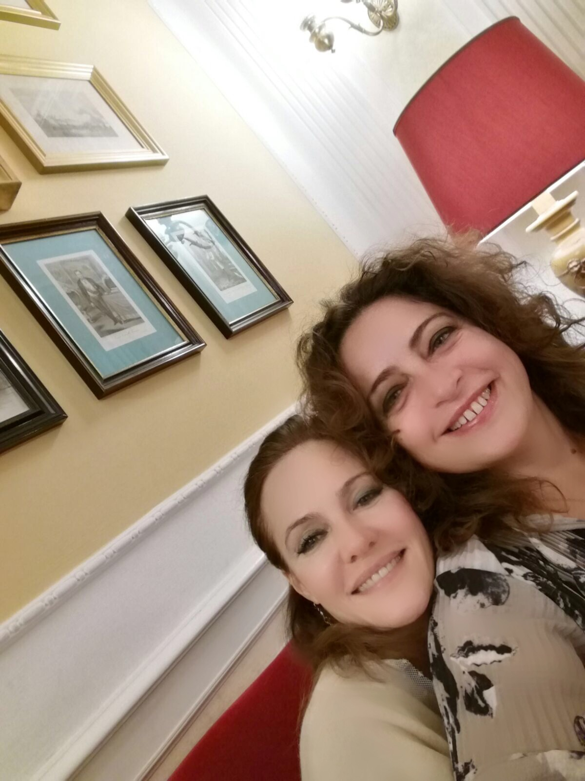 Paola Tonussi and Maria Grazia Filippi in Rome, November 2016
