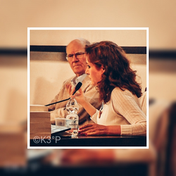 Con Angelo Righetti, 14 ottobre 2019, Società Letteraria Verona