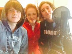 Mario, Ludovica and Paola at Radioimmaginaria Spring 2016