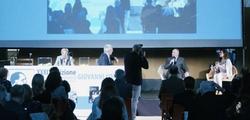 Con Sergio Perosa, Premiazione finalisti Comisso-sezione Biografia, 3 ottobre 2020, Treviso