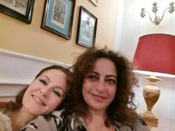 Paola Tonussi and Maria Grazia Filippi in Rome, November 2016 _