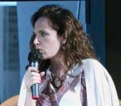 Paola alla Premiazione finalisti Comisso-sezione Biografia, 3 ottobre 2020, Treviso