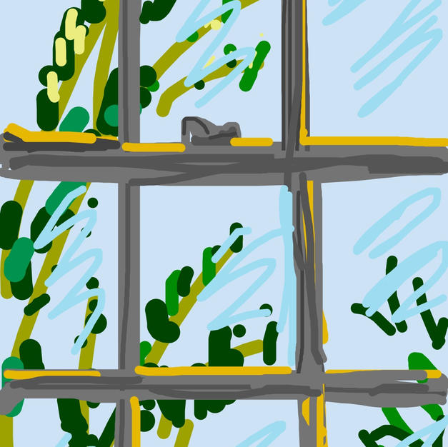 Inside View- iphone drawing