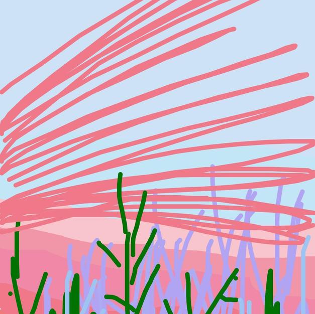 Sunrise iphone drawing