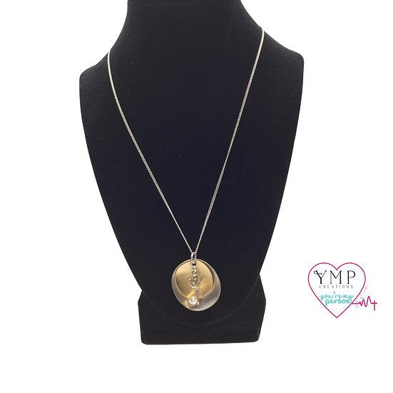 Double Disc Key Necklace