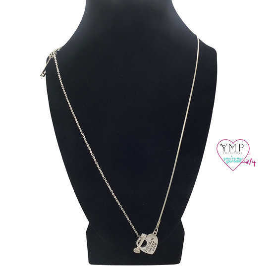 Heart with Key Necklace