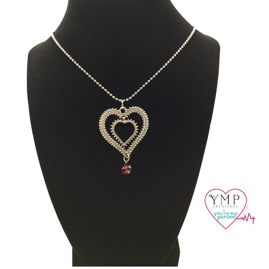 Dual Heart Necklace