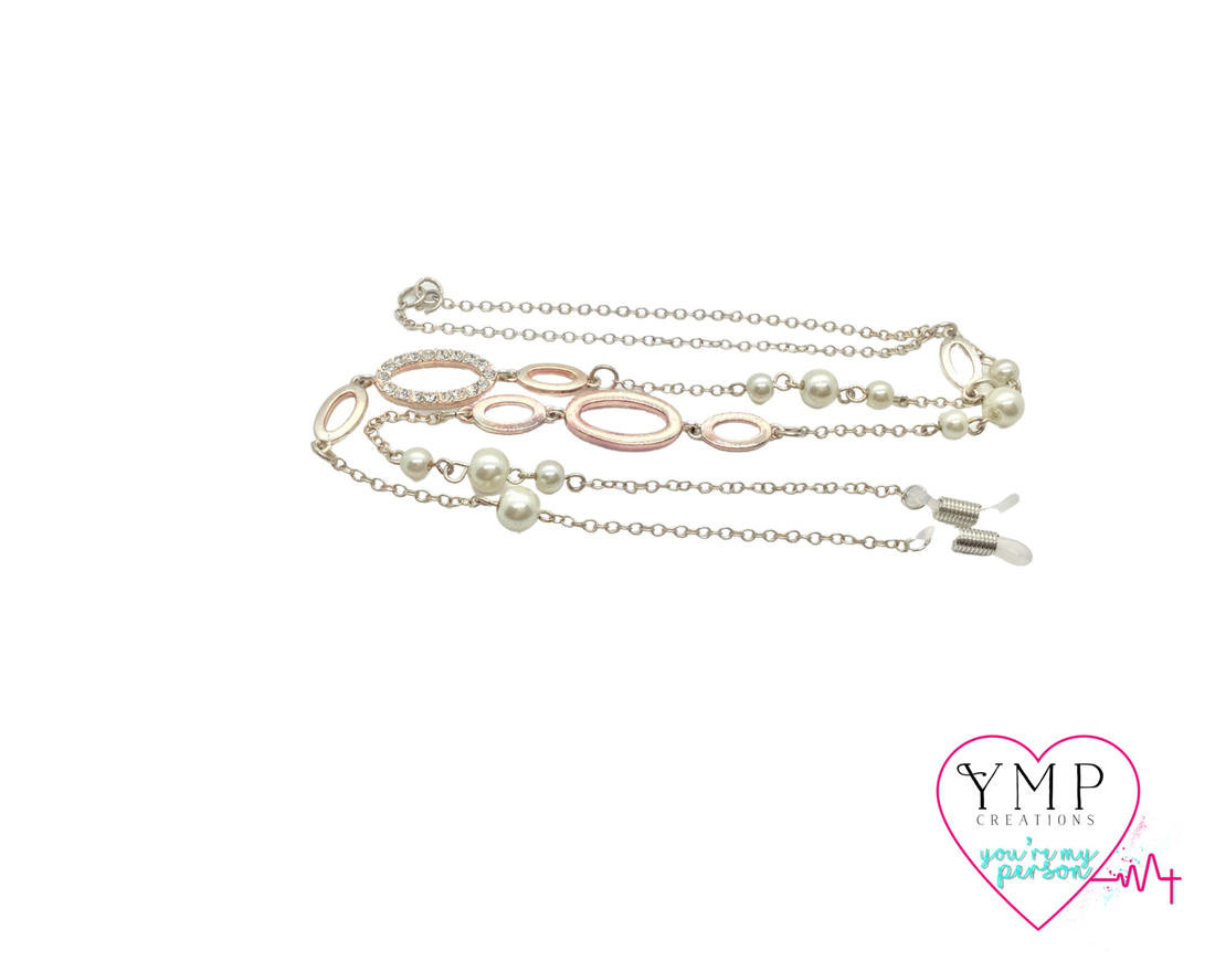 Rose Gold Eyeglass Chain