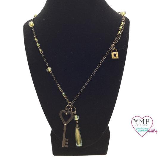 Key Dangle Necklace