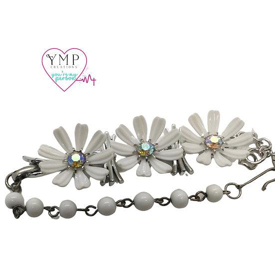 Three Daisy Bracelet